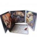 Digipack 3 volets livret sur gauche double CD
