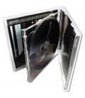 Boitier CD standard double album cd ouvert