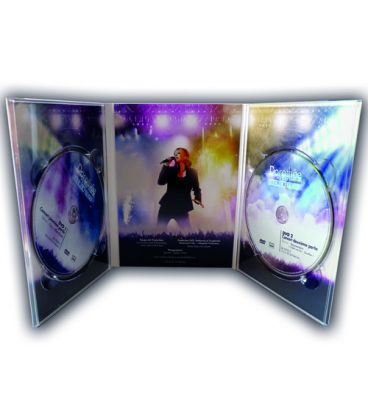 Pressage de DVD en Digipack 3 volets