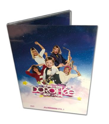 Pressage de DVD en Digipack 2 volets