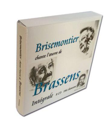 Coffret l'oeuvre de Brassens