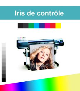 Iris de controle d'impression