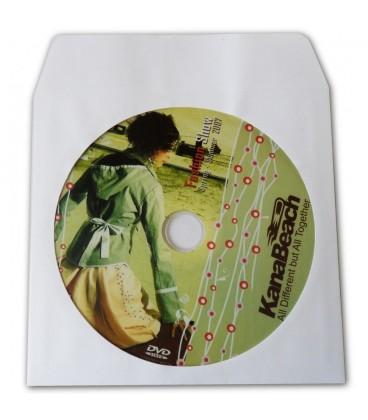 Pressage de CD et DVD en Pochette papier (enveloppe à fenêtre)