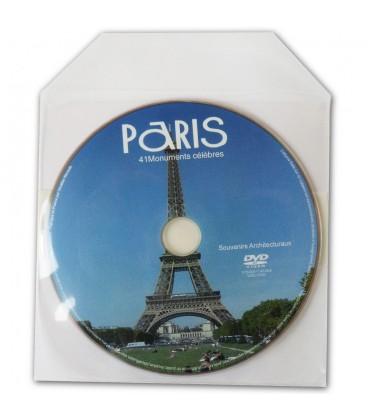 Pressage de CD et DVD en Pochette plastique souple