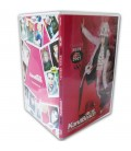 Boitier DVD standard pressage dvd thinpack transparent dos