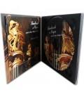 Digipack 2 volets format CD plateau noir ouvert